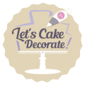 Let's Cake Decorate! Logo
