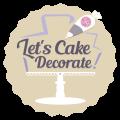 Let's Cake Decorate! Logo